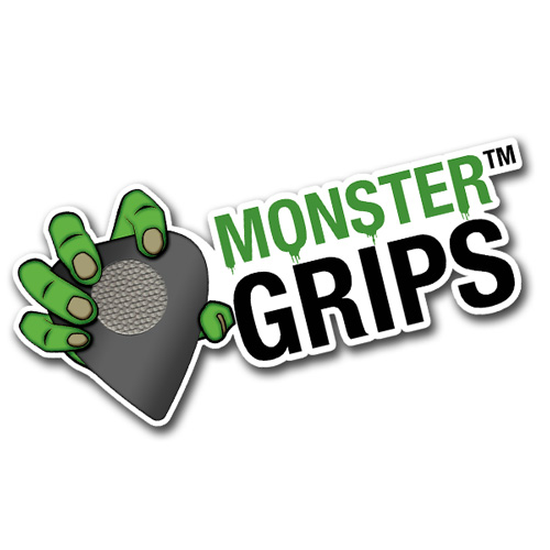 Monster Grips Logo Sticker