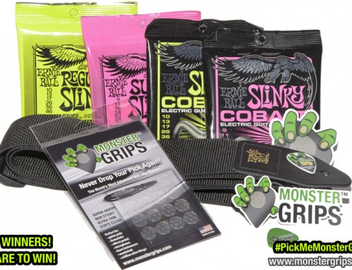 Ernie Ball® and Monster Grips™ Giveaway!