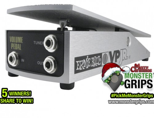 Ernie Ball® and Monster Grips™ Christmas Giveaway! (WINNERS ANNOUNCED)