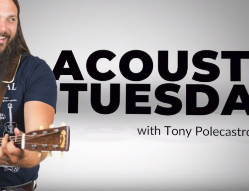 Tony's Acoustic Challenge:  3 Cheap Guitar Pick Experiments You Should Try ASAP (AT34)